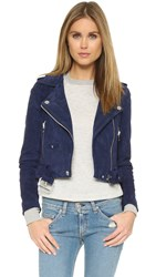 Blank Suede Moto Jacket Backhanded Compliment