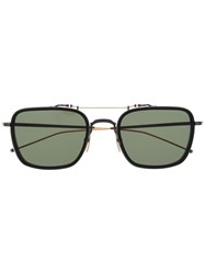 Thom Browne Eyewear Square Frame Sunglasses 60