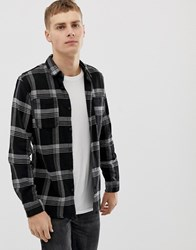 Only And Sons Check Shirt Grey