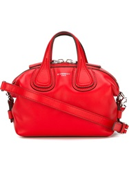 Givenchy Mini 'Nightingale' Tote Red