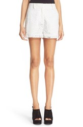 Women's Mcq By Alexander Mcqueen Lace Shorts