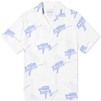 Nasaseasons Water Guns Vacation Shirt White