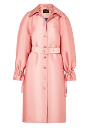 Stine Goya Flo Satin Drill Coat Bubblegum