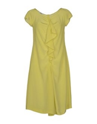 Moschino Cheap And Chic Moschino Cheapandchic Knee Length Dresses Acid Green