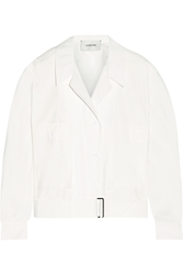 Lemaire Belted Cotton Poplin Jacket