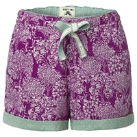 White Stuff Hidden Trees Shorts Purple