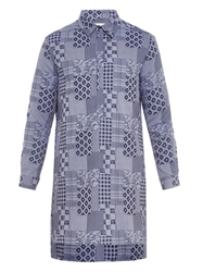 Richard Nicoll Patchwork Print Cotton Shirt