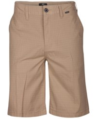 Hurley Men's Turner Walk Shorts Khaki