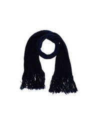 Master And Muse X The North Circular Oblong Scarves Dark Blue