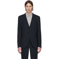 Tiger Of Sweden Navy Wool Jile Blazer