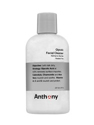 Anthony Logistics For Men Glycolic Facial Cleanser Transparent