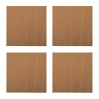 A By Amara Leather Coasters Set Of 4 Bronze