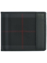 Burberry Checked Small Wallet Black