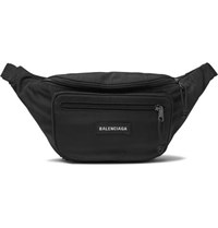 Balenciaga Explorer Canvas Belt Bag Black