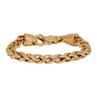 Emanuele Bicocchi Gold Wheat Chain Bracelet