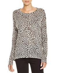 Majestic Leopard Print Long Sleeve Tee
