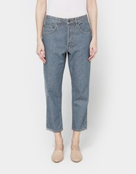 6397 Shorty Jean In Herringbone