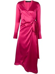 Federica Tosi Wrap Dress Pink