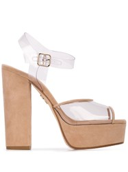 Ritch Erani Nyfc Cartier Platform Sandals Brown