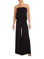 Young Fabulous And Broke Straight Across Neckline Jumpsuit Black
