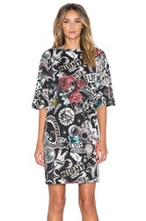 Love Moschino Lifestyles Of The Rich And Famous T Shirt Dress Black