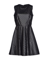 Mauro Gasperi Short Dresses Black