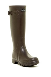 Barbour Town And Country Wellington Boot Brown