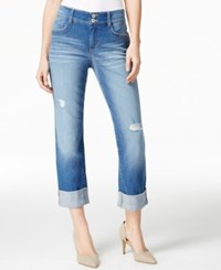 Styleandco. Style And Co. Distressed Saint Wash Cropped Jeans Only At Macy's