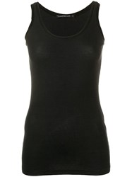 Transit Ribbed Tank Top Black