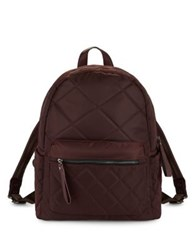 Sol And Selene Motivator Quilted Backpack Eggplant