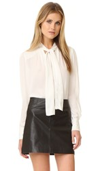 Parker Joy Blouse Ivory