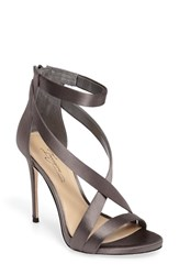 Imagine By Vince Camuto Women's 'Devin' Sandal Storm Grey Satin