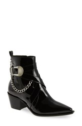 Topshop Women's Move It Western Boot Black
