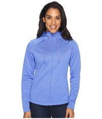 The North Face Novelty Mezzaluna Hoodie Amparo Blue Digi Women's Sweatshirt