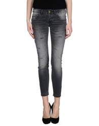 Maison Clochard Denim Pants Black