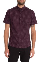 7 Diamonds Men's Show Out Woven Shirt
