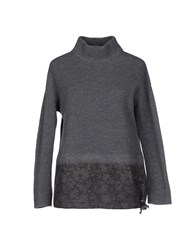 Qcqc Knitwear Turtlenecks Women Grey