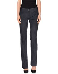Alberto Biani Trousers Casual Trousers Women Dark Blue