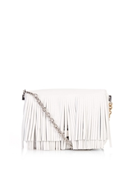 Proenza Schouler Courier Small Fringed Leather Shoulder Bag