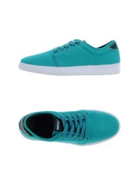 Wesc Low Tops And Trainers Turquoise