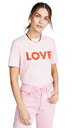 Kule The Modern Love T Shirt Pink