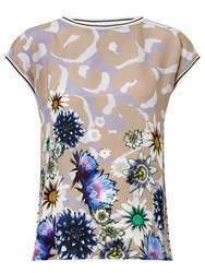 Marc Cain Floral Print Top Multi