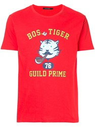 Guild Prime Graphic Print T Shirt Red