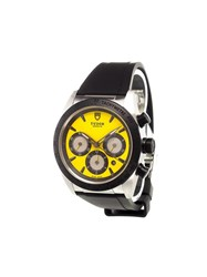 Tudor 'Fastrider Chronograph Ducati' Analog Watch Stainless Steel
