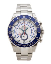 Classic Rolex Men's Yacht Master Ii Watch Nm Watch Collection By Crown And Caliber Silver