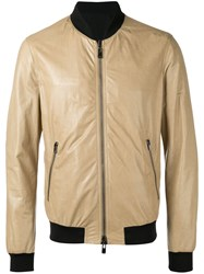 Drome Panel Bomber Jacket Nude Neutrals