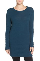 Halogenr Women's Halogen Rib Knit Tunic Teal Abyss
