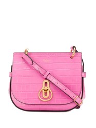 Mulberry Amberley Small Satchel Pink