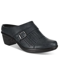Easy Street Shoes Cleveland Mules Women's Black
