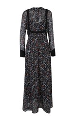 Dorothee Schumacher Romantic Flora Long Dress Floral